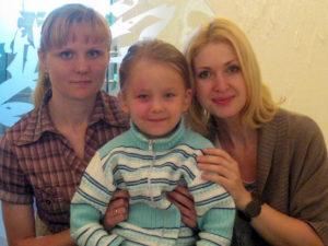 Ольга и Настя Букий, Алина Симонова